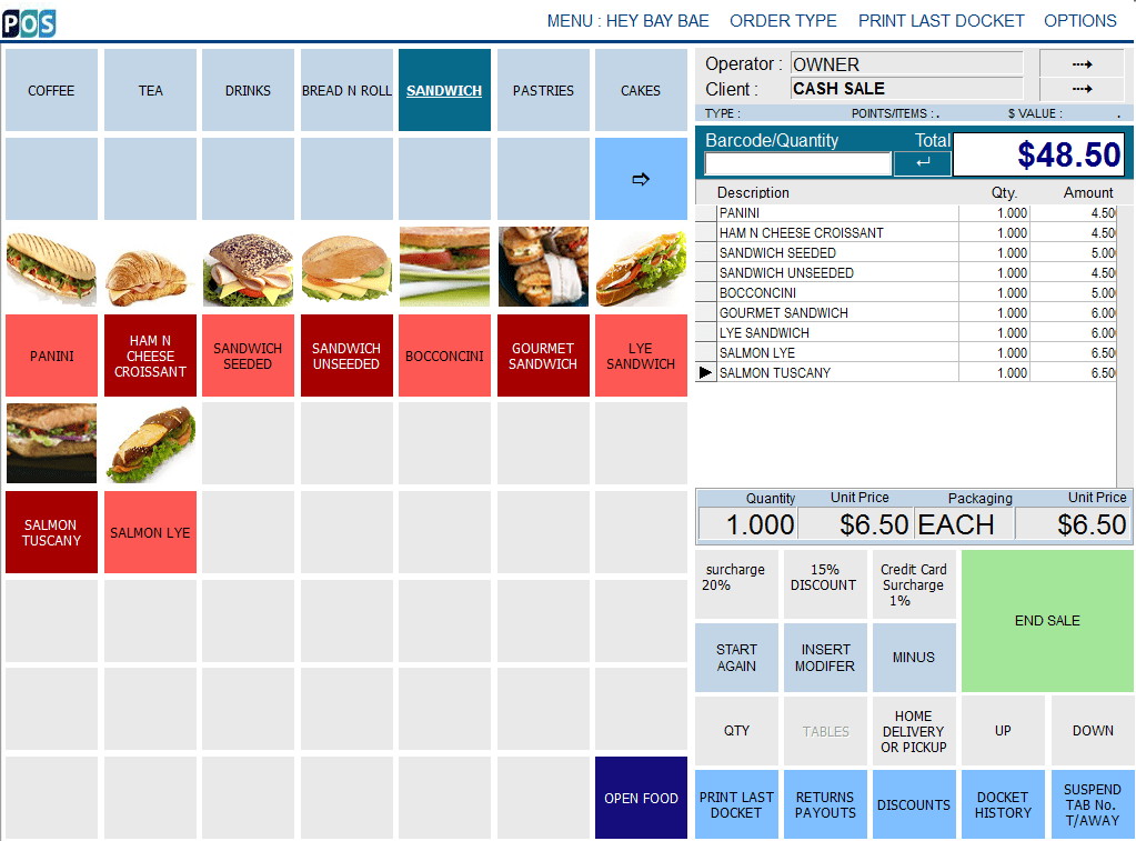 pos depot bakery and sandwich pos system and software