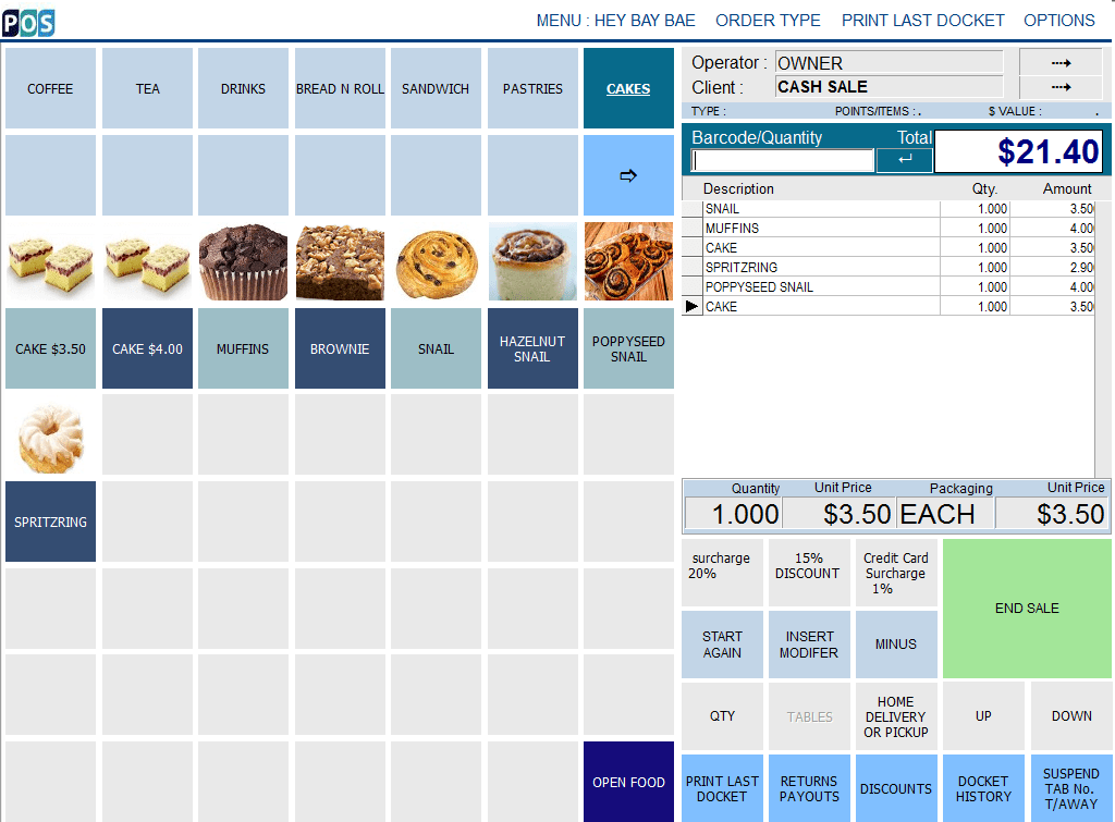 pos depot bakery and cakes pos system and software