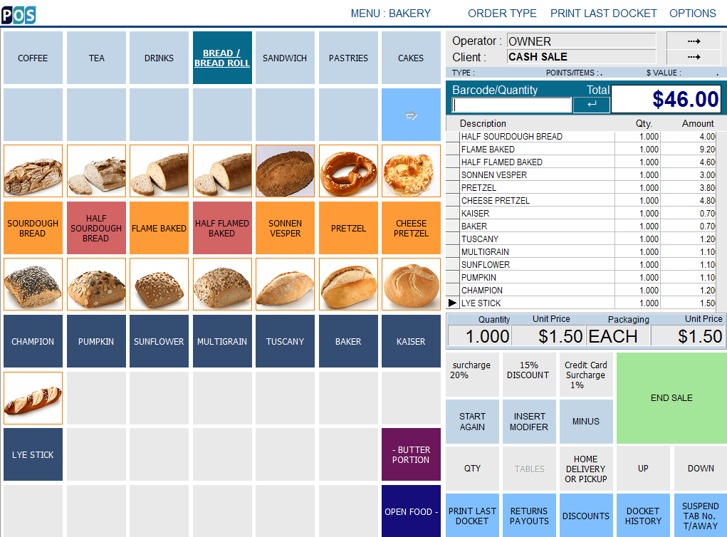 pos depot bakery and bread pos system and software