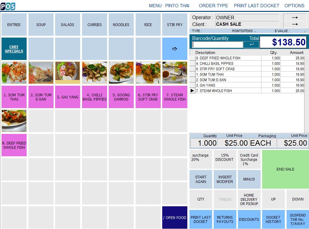 Best Thai Restaurant Point Of Sale System