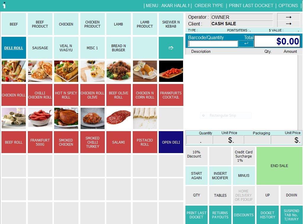 butcher shop point of sale system