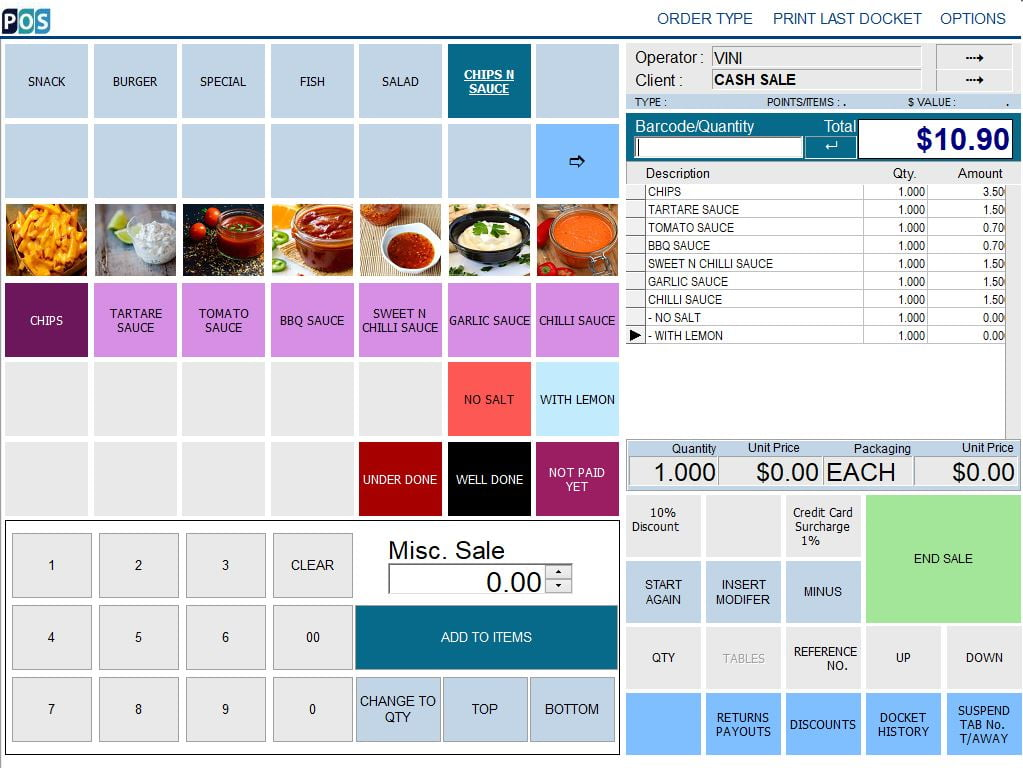 fish and chip takeaway shop pos software takeaway fish and sauce