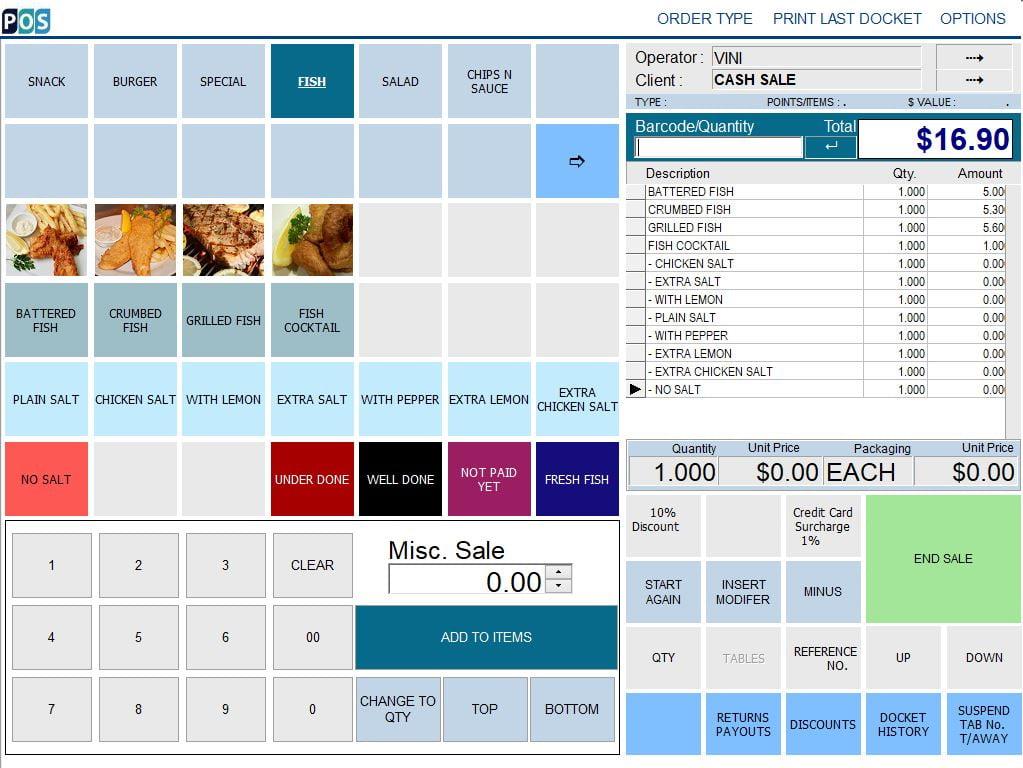 fish and chip takeaway shop pos software takeaway fish