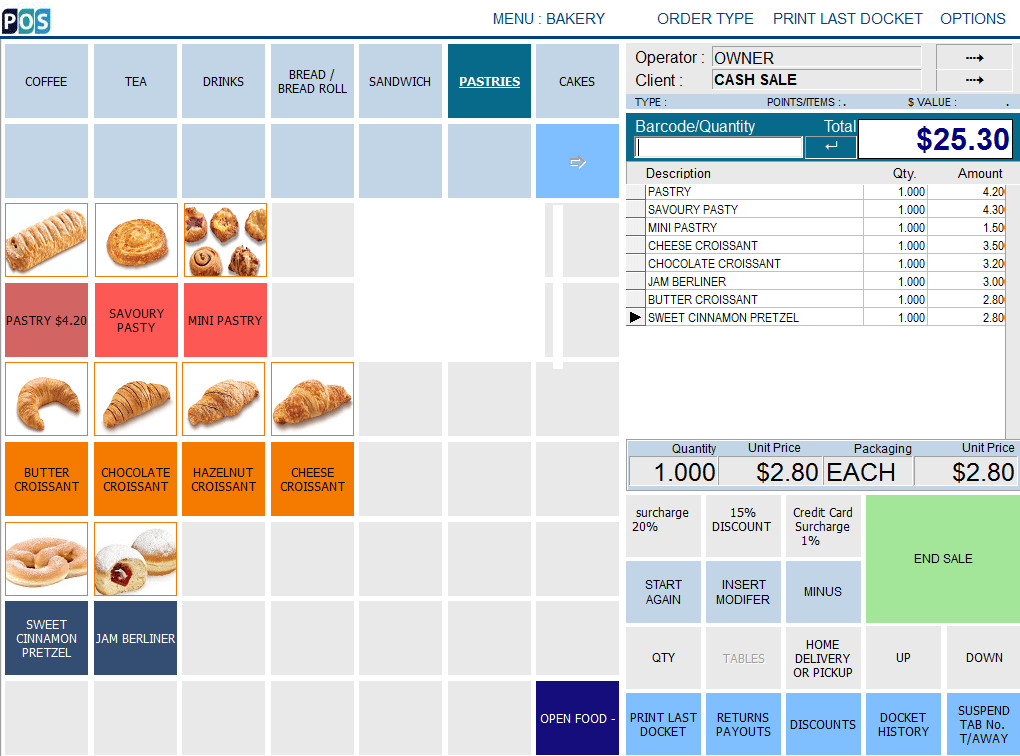 patisserie pastry shop pos software pastries